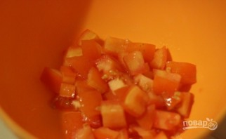 Салат с сухариками и крабовыми палочками - фото шаг 1