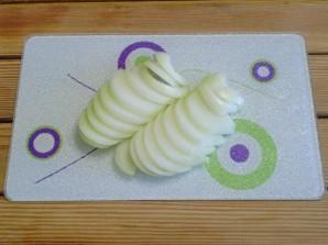Жареная печень с луком - фото шаг 2