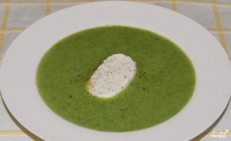 Крем-суп из брокколи и шампиньонов - фото шаг 4