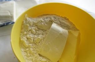 Творожное тесто с абрикосами - фото шаг 1