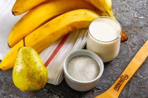 Смузи из банана и груши - фото шаг 1