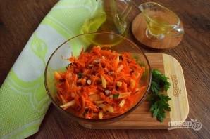 Салат из моркови и яблока - фото шаг 4
