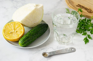 Смузи из белокочанной капусты - фото шаг 1