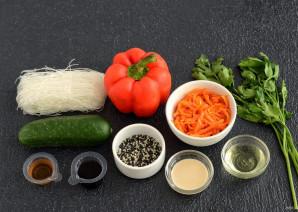 Салат из фунчозы с огурцом - фото шаг 1
