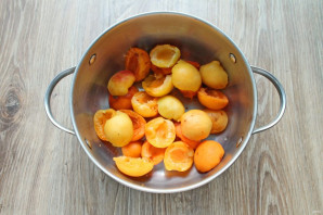 Варенье из абрикосов и киви - фото шаг 2