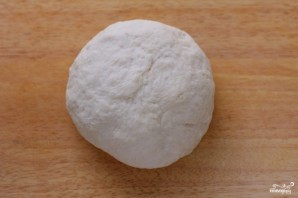 Лепешки с сыром и зеленью - фото шаг 2