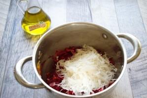 Легкий свекольный суп без картошки - фото шаг 4