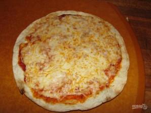 Сырная пицца на гриле - фото шаг 5