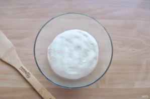 Кулебяка с мясом и грибами - фото шаг 10