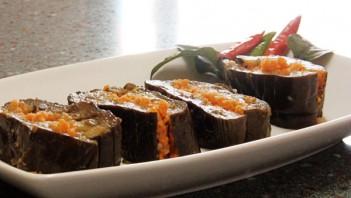 Маринованные баклажаны с морковкой - фото шаг 4