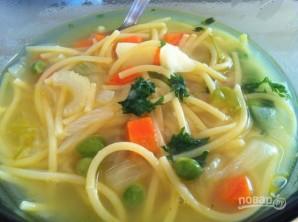 Суп из овощей с лапшой - фото шаг 5