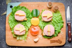 """Бутерброды """"Дорожные знаки"""" - фото шаг 6"""