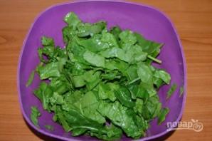 Салат из шпината свежего - фото шаг 2