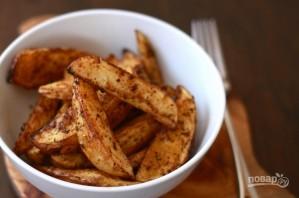 Хрустящий картофель, запеченный в духовке - фото шаг 3