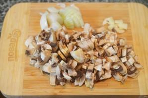 Запеканка с грибами и картофельным пюре - фото шаг 1