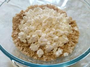 Рожковый пирог с яичной начинкой - фото шаг 4