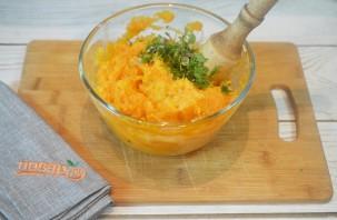 Картофельное пюре из батата с зеленью - фото шаг 7