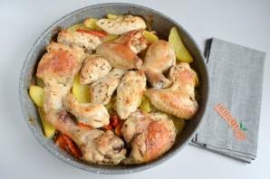 Курица с перцем и картофелем - фото шаг 6