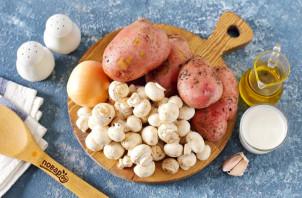 Диетическая картошка с грибами - фото шаг 1