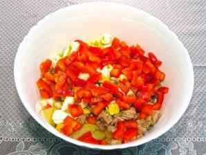 Картофельный салат с тунцом - фото шаг 7