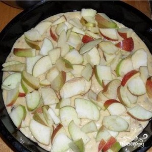 Кекс с яблоками - фото шаг 4