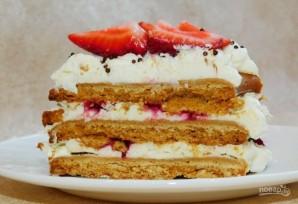 """Медовый открытый торт """"Цифра"""" - фото шаг 11"""