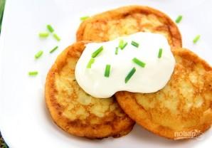 Картофельные оладьи из пюре - фото шаг 6