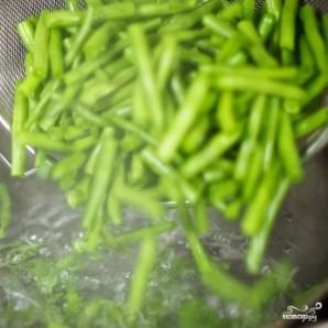 Салат из стручковой фасоли - фото шаг 3