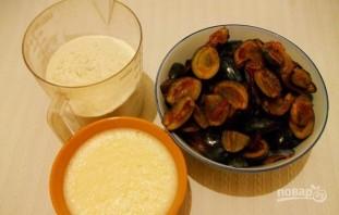 Пирог сливовый (старинный рецепт) - фото шаг 1
