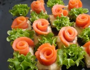 Маленькие закусочные бутерброды - фото шаг 5
