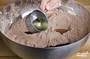 Шоколадный кекс без яиц - фото шаг 5