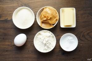 Печенье из арахисовой пасты - фото шаг 1
