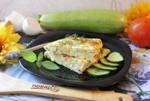 Омлет с сыром и кабачком - фото шаг 14