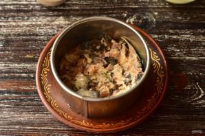 Рыбный салат с яблоком - фото шаг 2