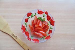 Салат с фасолью и яблоками - фото шаг 4