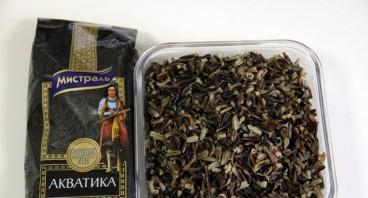 Салат с грибами и рисом - фото шаг 1