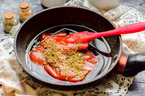 Кисло-сладкий соус с крахмалом - фото шаг 3
