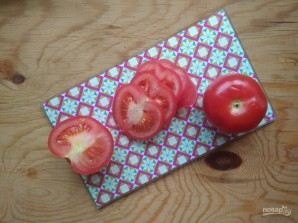 Картофельная пицца с помидорами - фото шаг 6