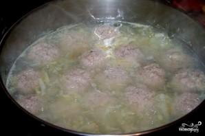 Суп с нутом и фрикадельками - фото шаг 5