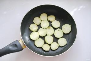Салат с кабачками и баклажанами - фото шаг 1