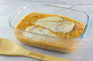Филе куриной грудки под сливочно-томатным соусом - фото шаг 5