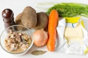 Суп из сардины - фото шаг 1