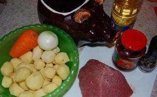Жаркое из говядины - фото шаг 1