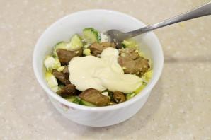 Салат из гусиной печени - фото шаг 5
