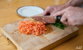 Равиоли с лососем - фото шаг 2