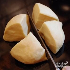 Манты с картофельной начинкой - фото шаг 5