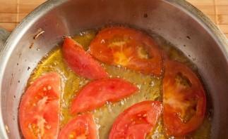 Омлет в духовке с помидорами - фото шаг 2