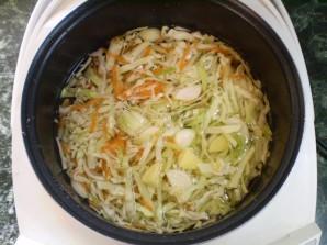 Вегетарианские щи из свежей капусты - фото шаг 6