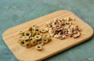 Салат с фасолью и луком-пореем - фото шаг 4