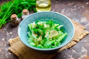 Салат с пекинской капустой - фото шаг 5